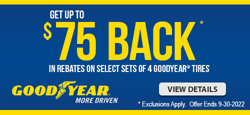 Goodyear Tire Promotion
